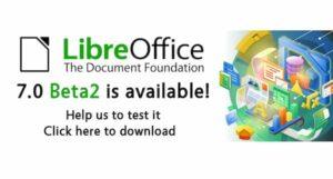 LibreOffice 7.0 Beta 2 já está disponível para testes