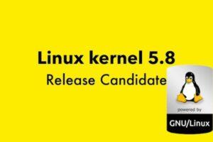 Linus Torvalds iniciou o desenvolvimento do Linux Kernel 5.8