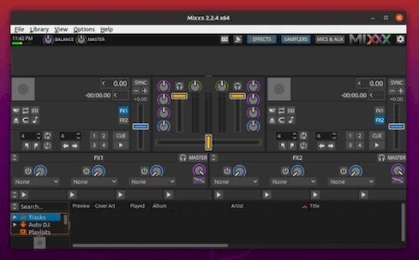 Mixxx 2.2.4 lançado com correções e mapeamentos de controladores