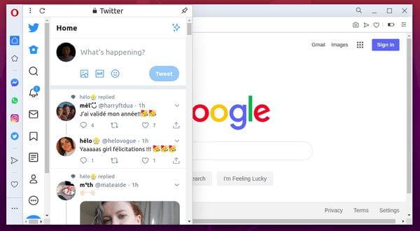 Navegador Opera 69 lançado com integração com o Twitter e mais