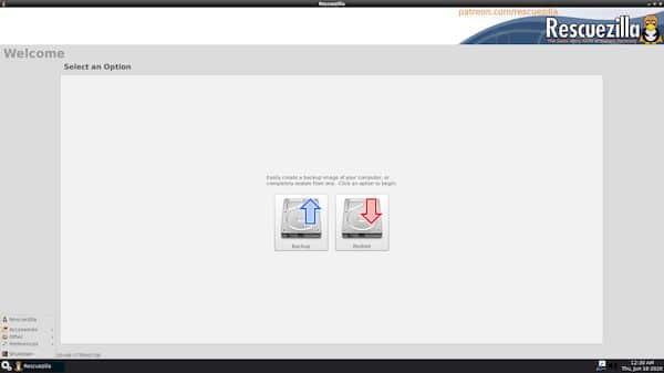 Rescuezilla 1.0.6 lançado com edições de 32 e 64 bits baseadas no Ubuntu