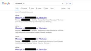 WhatsApp corrigiu o problema que expunha os números de telefone de usuários no Google