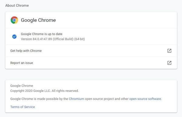 Chrome 84 lançado com 38 correções de segurança e muitas melhorias