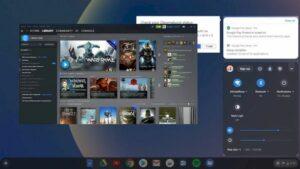Chrome OS também permitirá reproduzir títulos do Steam