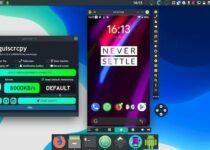 Como instalar o app de espelhamento Android Guiscrcpy no Linux via Snap