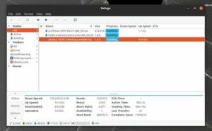 Como instalar o cliente BitTorrent Deluge no Linux via Snap
