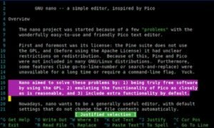 Como instalar o editor de texto nano no Linux via Snap