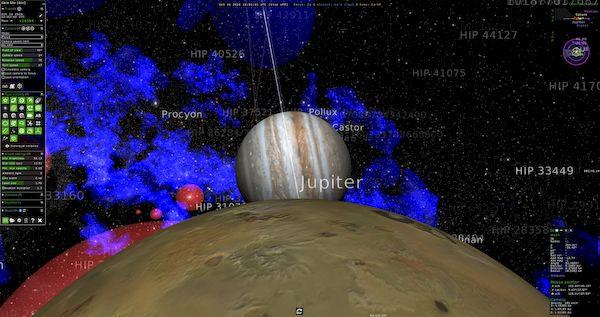 Como instalar o Gaia Sky no Linux via Flatpak e explorar as estrelas