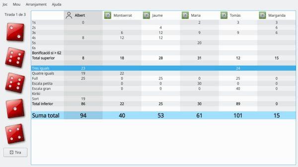 Como instalar o jogo de dados Kiriki no Linux via Snap