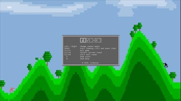 Como instalar o incrível jogo Gorched no Linux via Snap