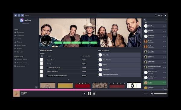 Como instalar o reprodutor de músicas Nuclear no Linux via Flatpak