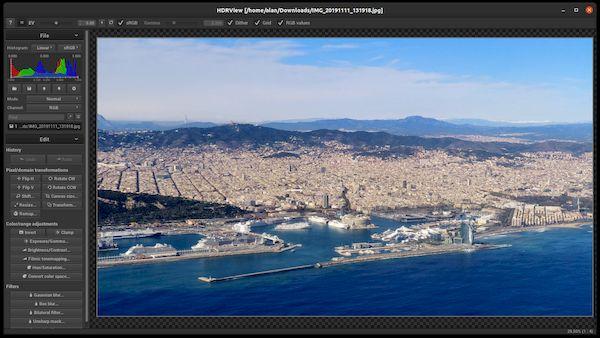 Como instalar o visualizador de imagens HDR HDRView no Linux via Snap