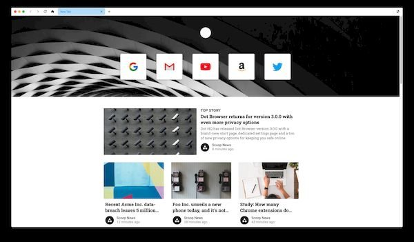 Conheça o Dot Browser, um navegador Chromium focado na privacidade