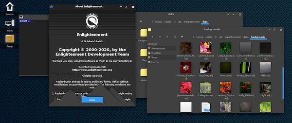 Enlightenment 0.24.2 lançado com correções de bugs e mais