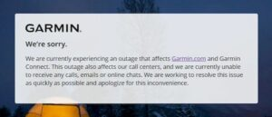 Garmin encerrou alguns serviços após suspeita de ataque de ransomware