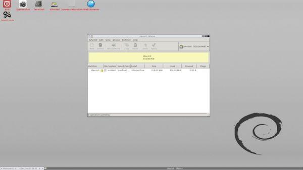 GParted Live 1.1.0-3 lançado com o Linux Kernel 5.7 e mais