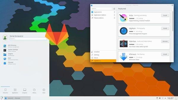 KDE está de mudança para o GitLab e a primeira fase está concluída