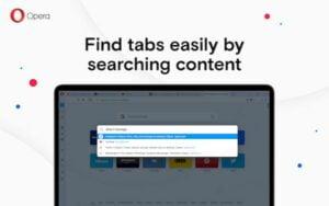 Opera 70 lançado com melhorias na pesquisa em abas e mais