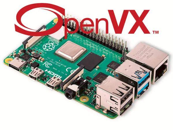 Raspberry Pi SBC agora suporta OpenVX 1.3 Computer Vision API