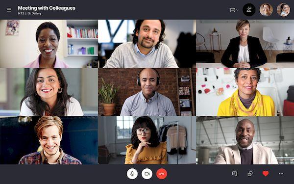 Skype 8.62 lançado com plano de fundo personalizado na vídeo chamada