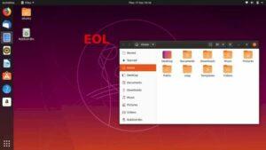 Ubuntu 19.10 chegou ao fim da vida útil! Atualize para o Ubuntu 20.04!