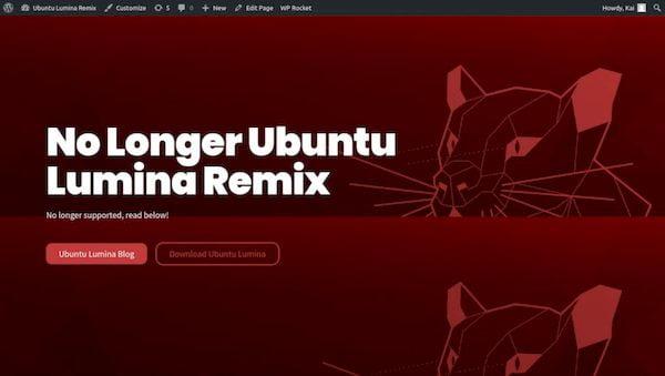 Ubuntu Lumina não será um sabor oficial suportado pela Canonical