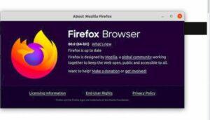 Firefox 80 lançado com suporte para aceleração VA-API no X11 e mais