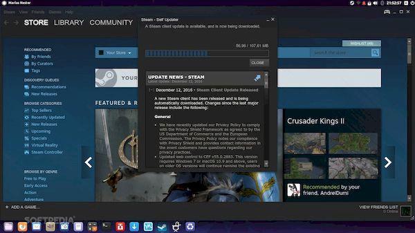 Cliente Steam atualizado com muitas melhorias no Vulkan no Linux