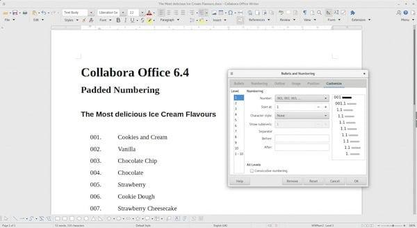 Collabora Office 6.4 lançado com excelente interoperabilidade com o MS Office