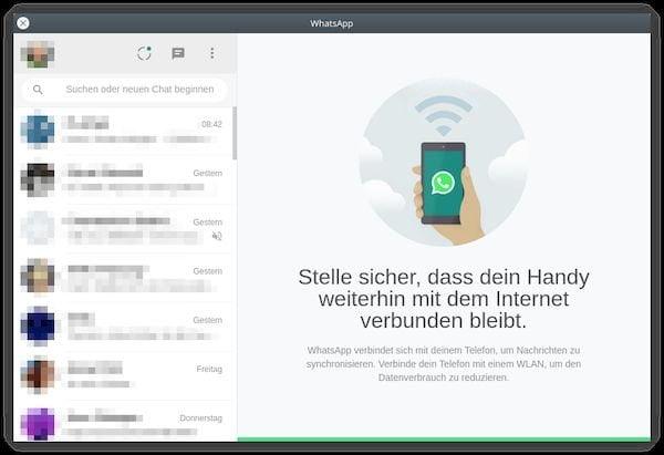 Como instalar o cliente WhatsApp Web não oficial WhatsAppQT no Linux