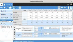 Como instalar o editor de fontes de som Polyphone no Linux via Flatpak