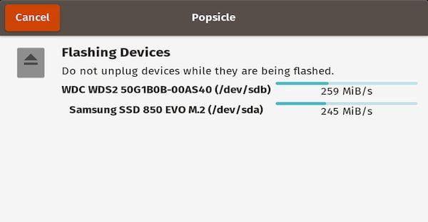 Como instalar o gravador de imagens Popsicle no Ubuntu e derivados