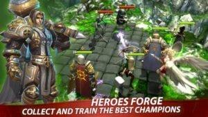 Como instalar o jogo Heroes Forge no Linux via Snap