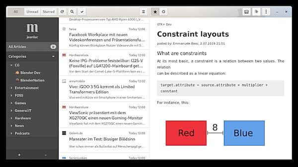 Como instalar o leitor RSS NewsFlash no Linux via Flatpak
