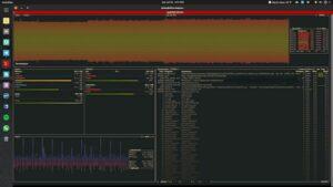Como instalar o utilitário bashtop no Linux via Snap
