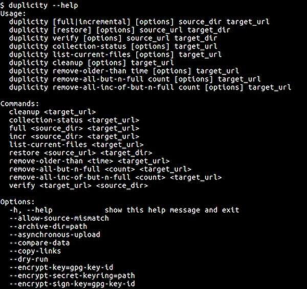 Como instalar o utilitário de backup Duplicity no Linux via Snap