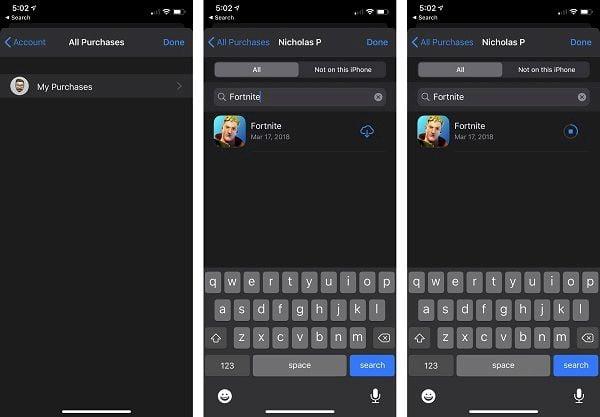 Como reinstalar o Fortnite no iOS depois que a Apple o removeu da App Store?