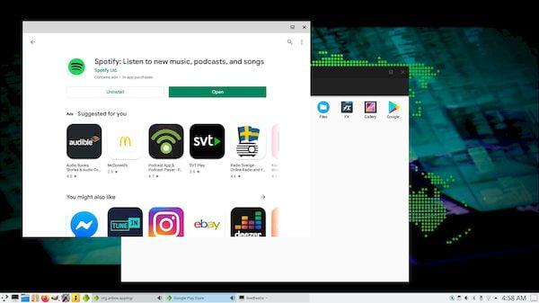 ExTiX 20.9 agora permite que você execute aplicativos Android com Anbox
