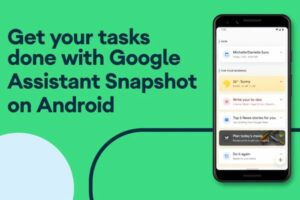 Google adicionou novos recursos no Snapshot para Android e iOS