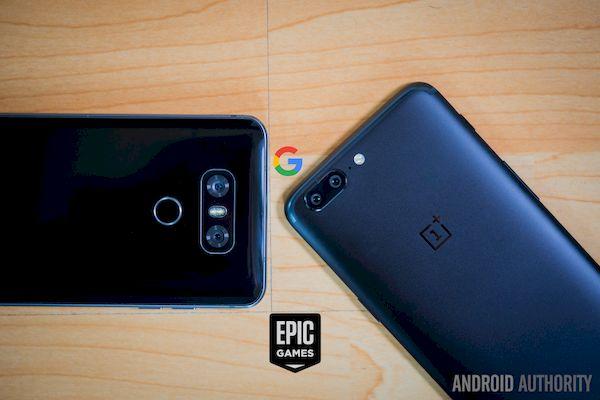 Google pode ter impedido a OnePlus e LG de pré-instalar o Epic Games