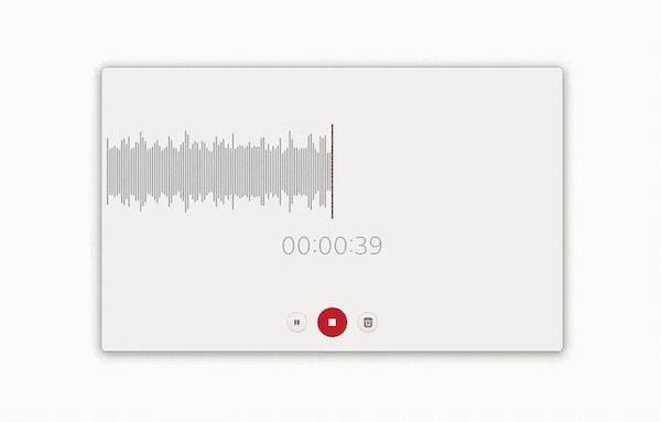 Gravador de som do GNOME recebeu um visual novo e incrível
