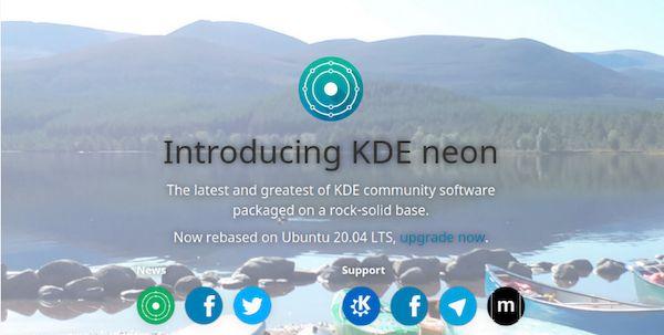 KDE neon agora é baseado no Ubuntu 20.04 LTS! Confira!