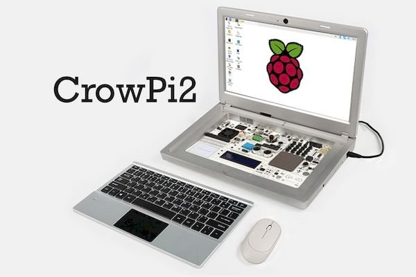Laptop CrowPi2 Raspberry Pi e a plataforma educacional STEM serão lançados este mês