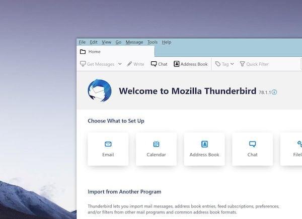 Mozilla Thunderbird 78.1.1 lançado com várias melhorias importantes