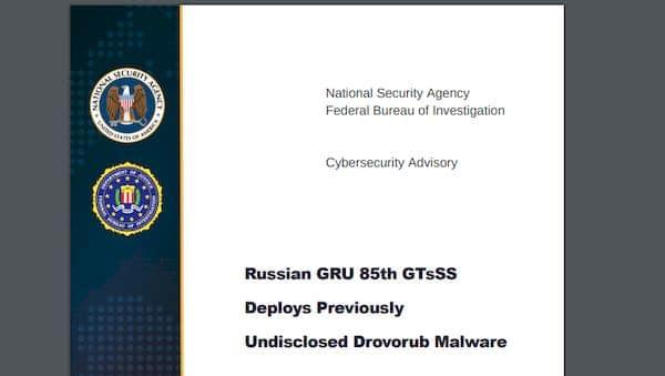 NSA expôs novo malware russo Drovorub em relatório