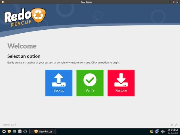 Redo Rescue 2.0.4 lançado com suporte a compartilhamento NFS e servidor SSH
