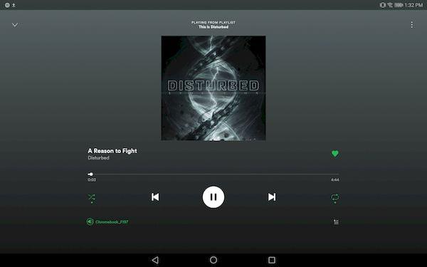 Spotify otimizou sua interface para tablets Android e Chromebooks