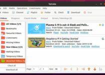 Tartube no Linux – Um front-end para o Youtube-DL Video Downloader