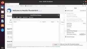 Thunderbird 78.2.1 lançado com suporte a OpenPGP habilitado por padrão