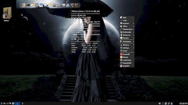 4MLinux 34 lançado com um novo reprodutor de mídia padrão e mais